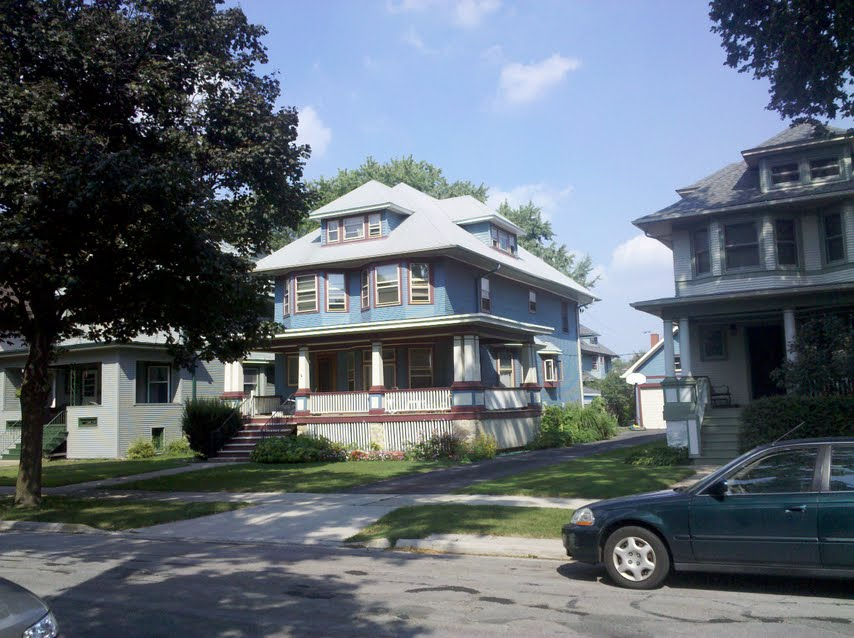 American foursquare houses in oak park real estate for American homes realty